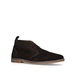 KG Kurt Geiger - Brown 'Porter' desert boots