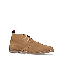 KG Kurt Geiger - Tan 'Porter' desert boots