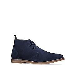 KG Kurt Geiger - Navy 'Porter' desert boots