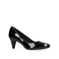 Anne Klein - Black 'Rosalie' mid heel court shoes
