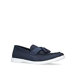 KG Kurt Geiger - Navy 'Retford' loafers