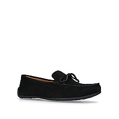 KG Kurt Geiger - Black 'Ringwood' boat shoes