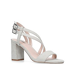 Carvela - Grey 'Group' mid heel sandals