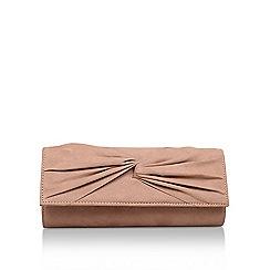 Miss KG - Nude 'Tandy' clutch bag