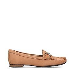 Carvela Comfort - Tan 'Cindy' Flat Loafers