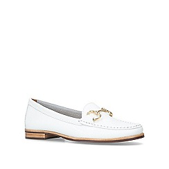 Carvela Comfort - White 'Click' flat loafers