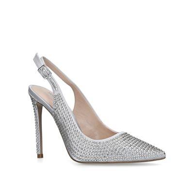 Carvela - Grey 'Arianna' high heel court shoes