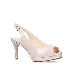 Nine West - Nude 'Competition' sandals