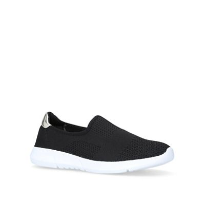 Carvela Comfort - Black 'Carly' slip on trainers
