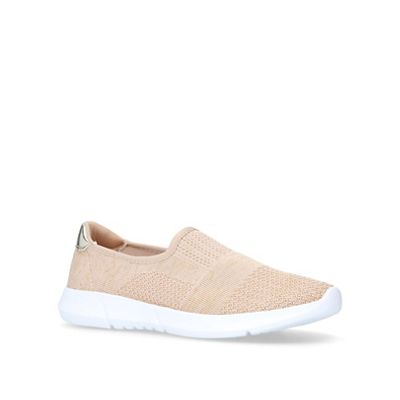 Carvela Comfort - Gold 'Carly' slip on trainers