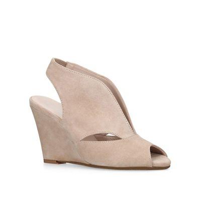 Carvela Comfort - Brown Alexa wedge sandals