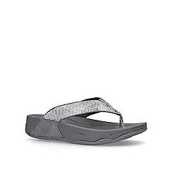 Carvela Comfort - Pewter 'Sin' Flip Flops