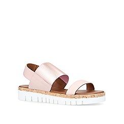 Carvela Comfort - Bronze 'Sylvia' flat sandals