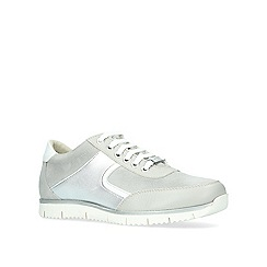 Carvela Comfort - Grey 'Cecil' lace up trainers