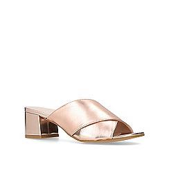 Carvela - Bronze 'Sienna' mid heel mules