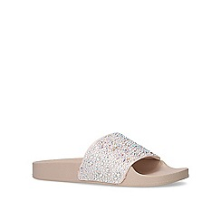 Carvela - Nude 'Bang' flat sandals