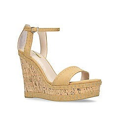Carvela - Camel 'Kissimmee' high wedge sandals