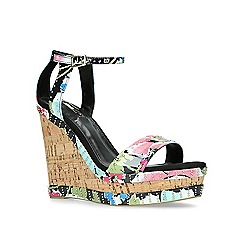 Carvela - Multi-colored 'Kissimmee' high wedge sandals