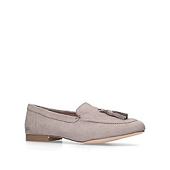 Miss KG - Grey 'Mona' flat loafers