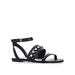 Miss KG - Black 'Reach' flat sandals