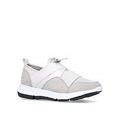 Miss KG - Taupe 'Lauren' low top trainers