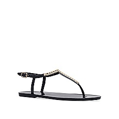 Carvela - Black 'Brisk' flat sandals