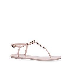 Carvela - Nude 'Brisk' flat sandals