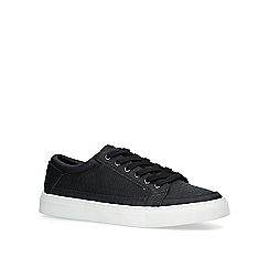 KG Kurt Geiger - Black 'Ripon' low top trainers