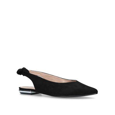 4fa1432dc52 Miss KG - Black  Maddie  flat sandals