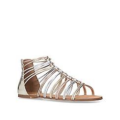 Miss KG - Metallic 'Robyn' flat sandals