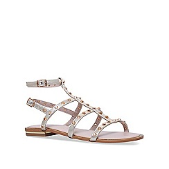 Carvela - Gold 'Banker' metallic flat sandals