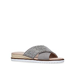 Carvela - Grey 'Birch' flat sandals