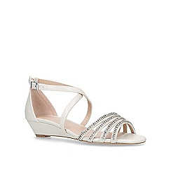 Carvela - Silver 'Linden' low heel sandals