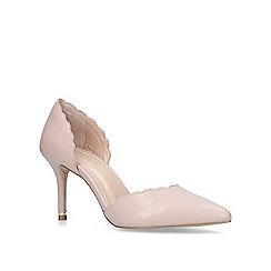 Carvela - Nude 'Lovlier' mid heel court shoes