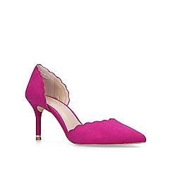 Carvela - Purple 'Lovlier' mid heel court shoes