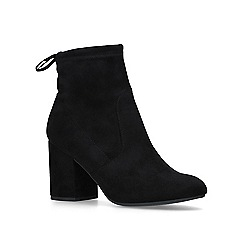 Miss KG - Black 'sully' mid heel ankle boots