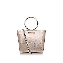 Carvela - Gold 'Super Circle' cross body bag