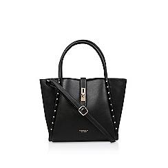 Carvela - Black 'Shar Studded' soft tote bag