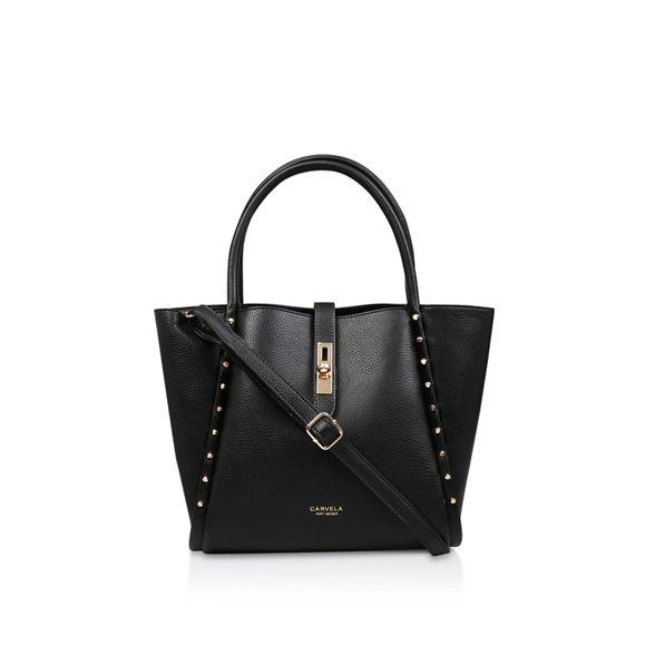soft 'Shar Studded' bag Black Carvela tote TUq6xzznw