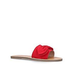 Miss KG - Red 'Rizo' flat sandals
