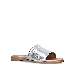 Miss KG - Pewter 'Ronny' flat sandals