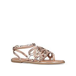 Miss KG - Metallic 'Ramiro' flat sandals