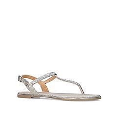 Miss KG - Gold 'Roberta' flat sandals