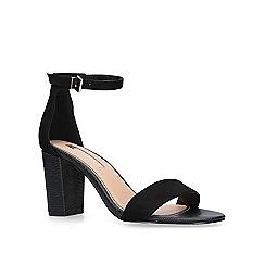 Miss KG - Black 'Pearl' high heel sandals
