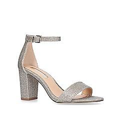 Miss KG - Metallic 'Pearl' high heel sandals