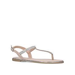 Miss KG - Nude 'Roberta' flat sandals