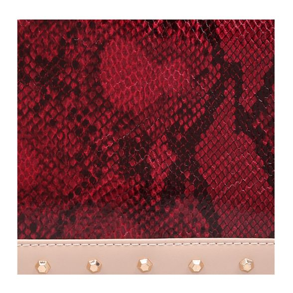 Body' Carvela studded print 'Kansas bag Red crossbody snake X Cq1qRnt