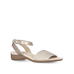 Anne Klein - Gold 'Kalene' flat sandals