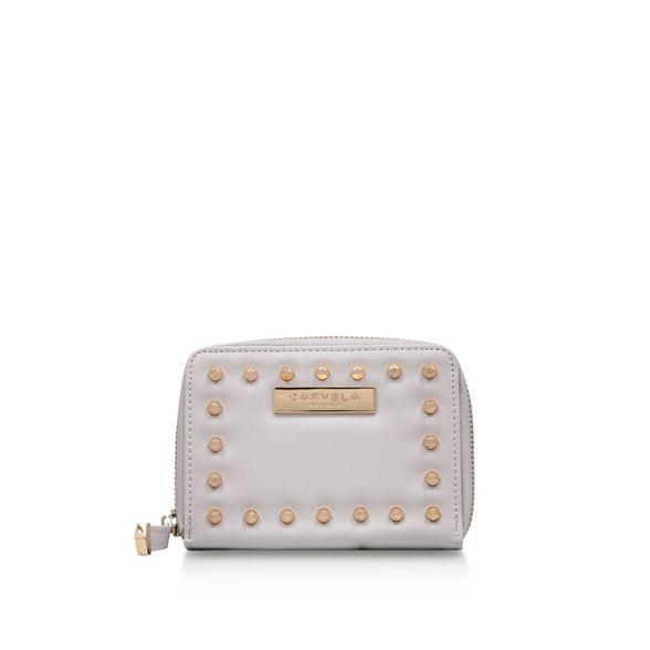 half wallet Grey size Stud