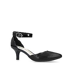 Anne Klein - Black 'Fonda' mid heel court shoes